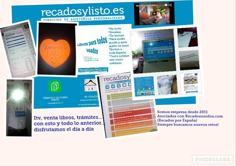 Servicios con recadosylisto.es